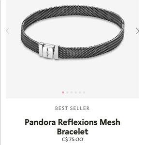 Pandora Reflections Mesh Bracelet